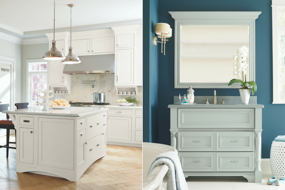 2018 Kitchen and Bath Trends, 2018 Cabinetry Trends, MasterBrand Cabinets